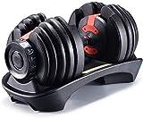 LCNING Hantel-Set Gym Bicep Gewichtheben Einstellbare Hantel Fitnessgeräte Bodybuilding automatisch...