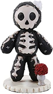 Pacific Giftware 4.25 Inches Pinhead Monster Voodie Sketeton Scanning Bone Rose Doll