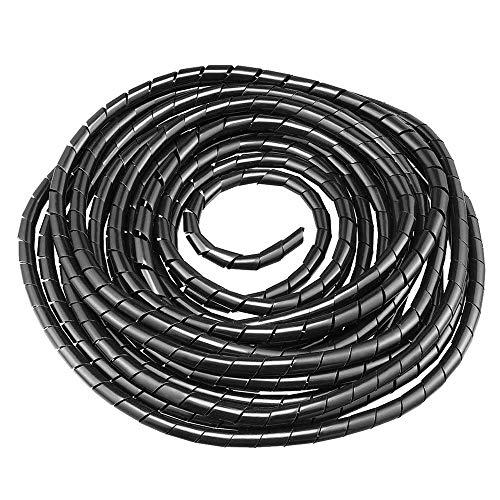GTIWUNG Longitud 9 m   Diámetro 10mm Organizador de Cables en Espiral,...