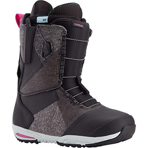 Burton Supreme Snowboard Boot Black 2 8.5 B (M)