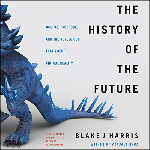 The History of the Future audiobook cover art