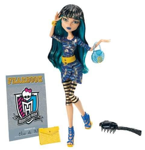 Monster High Y4313 - Picture Day Cleo de Nile Puppe - Modell 2013