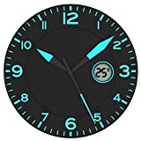 Horloge Noir / Bleu * Avec Température