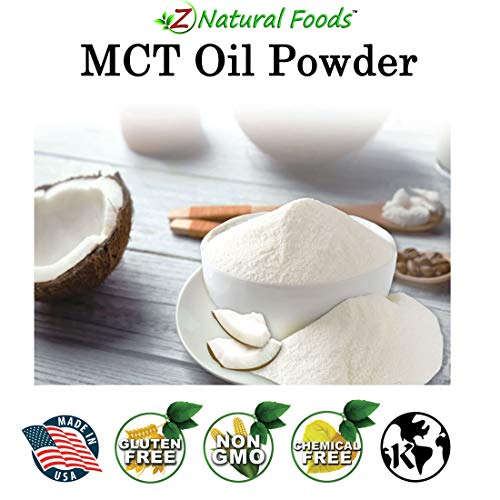 MCT Oil Powder - Unflavored Keto Coffee Creamer for Instant Energy & Endurance - Perfect Fat Supplement for Ketogenic Diet - Mix in Tea, Smoothies, Shakes & Recipes - Non GMO & Gluten Free - 1 lb 4