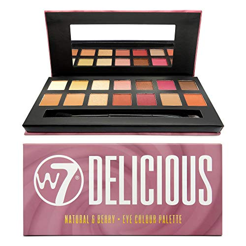 W7 | Eyeshadow Palette | Delicious Eyeshadow Palette | 14 Shades