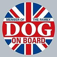 dog on board イギリス ステッカー