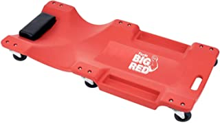 "BIG RED TRP6240 Torin Blow Molded Plastic Rolling Garage/Shop Creeper: 40"" Mechanic Cart with..."
