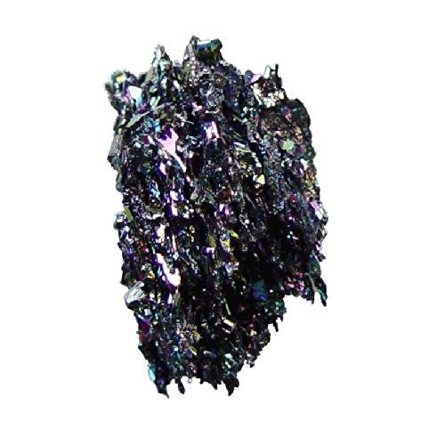 Siliziumkarbid Drusenstück Sammlerstück schillerndes Farbspiel ca. 40-50 mm.(3496)