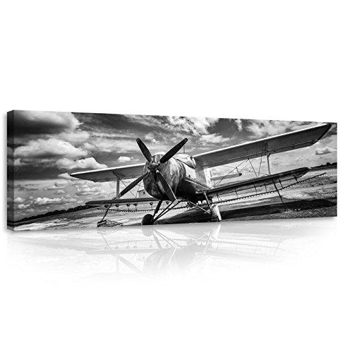 ForWall Bilder Canvas Flugzeug - O3 (45cm. x 145cm.) Leinwandbilder Wandbild AMFPP11384O3