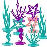 Cieovo 16Pcs Ocean Mermaid Party Decoration DIY Felt...