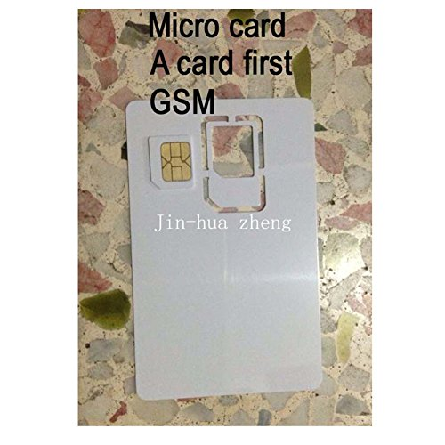 10pc Micro simkaart GSM Blanco kaart Kopieerkaart Maagdenkaart