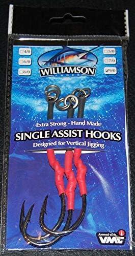 unbrend Williamson Lures Single Assist Department store Hooks 11 Max 68% OFF H 0 VMC SAH-XXLS