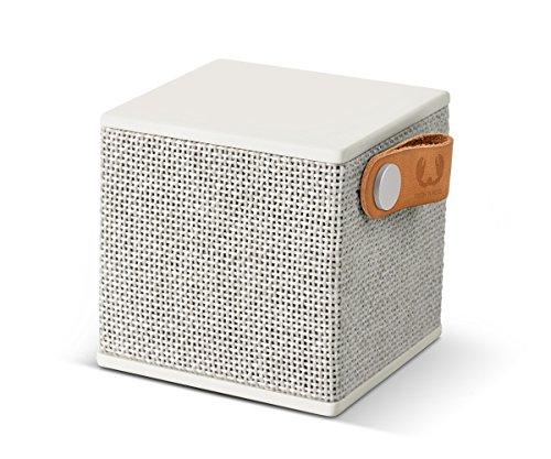 Fresh'N Rebel Rockbox Cube - Altavoz portátil con Bluetooth, color blanco