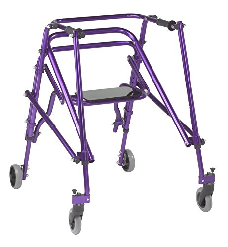 Drive Nimbo - Caminador de postura pediátrica (ligero, plegable, ajustable)