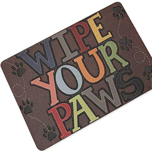 SXY Welkom Deurmat met tekst bedrukt, anti-slip vloermat, tapijten, grappig aangepaste huisdeur, mat tapijt