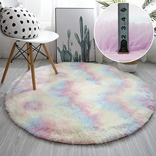 Effortsmy Soft Sheepskin Carpet bedroom Rug Flower Retangle Shaped Antiskid Soft Faux Fur Wool Carpet Modern Carpets Mat Living Room