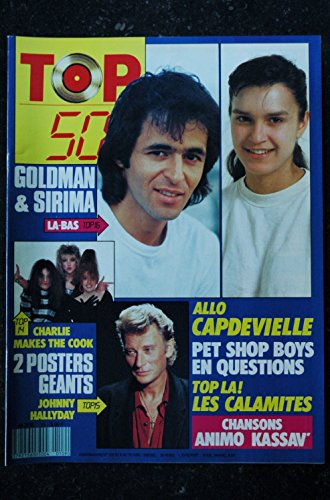 TOP 50 109 1988 GOLDMAN SIRIMA CHARLIE MAKES THE COOK HALLYDAY ANIMO PET SHOP BOYS