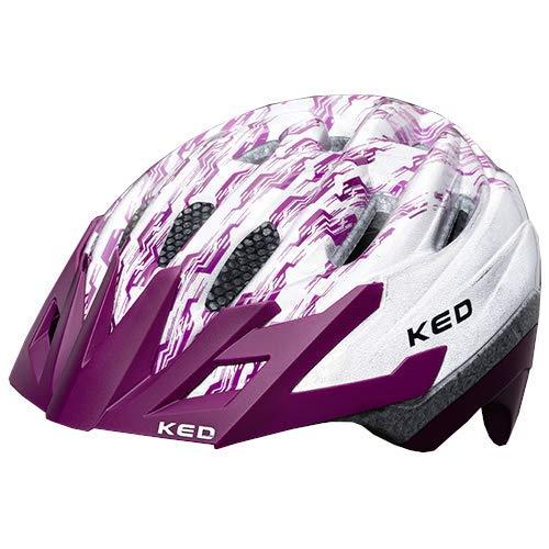 KED Fahrradhelm Dera 2 - Allround-Helm in robuster maxSHELL- Technologie, Quicksafe- und Quickstopp-System - (SM (Kopfumfang 49-55 cm), K-Star Violet)