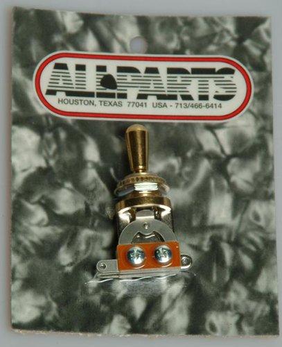 Allparts EP-0066-002 Switchcraft interruptor de palanca de oro