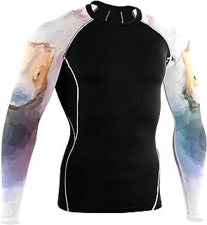 DEZIRO Duck Painting Camisas de manga larga para ciclismo Gym Shirt