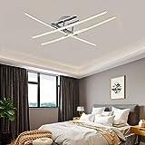 Lámpara de techo LED, lámpara de techo LED minimalista de 18 W, luces blancas frías de 6500 K, LED integrados, lámpara de techo para dormitorio, sala de estar, recibidor, IP20