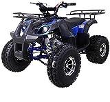 X-PRO 125cc ATV Quad 4 Wheeler Youth ATV Kids Quad ATVs (Blue)