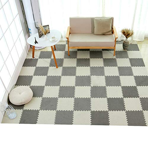 Why Choose XJJUN Foam Exercise Mat,Baby Crawling Mat Non-Slip Splicable Thicken Carpet Can Be Cut Li...