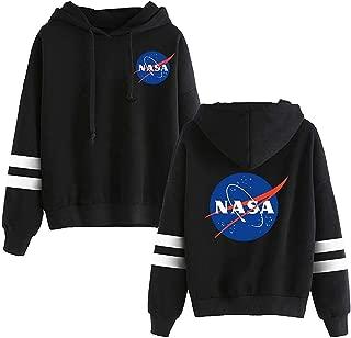 Unisex NASA Logo Women Men Hoodie National Space Administration Fashion Sweatshirt