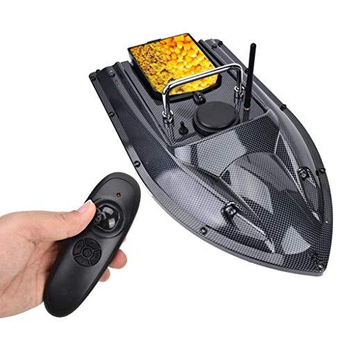 Barco de cebo , Control remoto inalámbrico Alimentador de pesca Pesca inteligente Bait Boat RC Barco de pesca para adultos Principiantes 540 yardas Ráximo remoto , Arrastre de pesca con control remoto