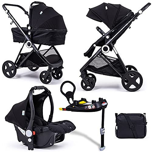 For Your Little One Million Dreams 3 in 1 Travel System with Isofix Base -...