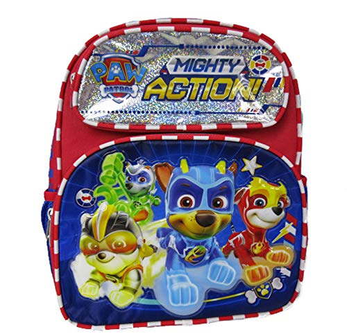 Paw Patrol - Mighty Pups 12' Toddler Size Backpack - Super Hero Puppies - A19002
