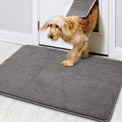 "Color&Geometry Indoor Doormat 20""x32"" Non Slip Backing Machine Washable Super"