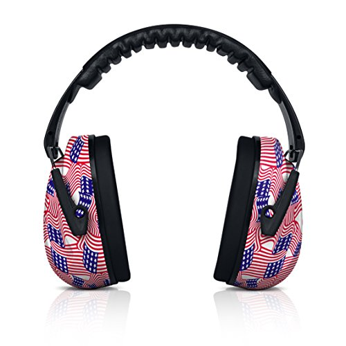HEARTEK Hearing Protection Noise Cancelling Ear Muffs, Shooting Ear Protection