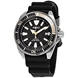 Seiko SRPB55 Mens Black Ion Prospex Automatic Dive Watch