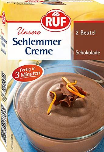 RUF Schlemmercreme Schokolade fertig in 3 Minuten, 10er Pack (10 x 2 Beutel)