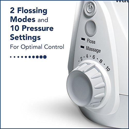 Waterpik WP-660UK Ultra Professional Water Flosser, White Edition (UK 2-Pin Bathroom Plug)