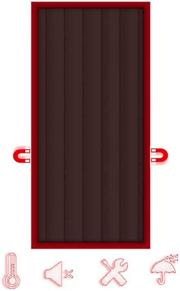 Thermal Selling Insulated Door Curtain Magnetic GDMING Max 72% OFF Heavy Screen