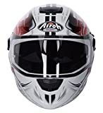 Airoh Casco Storm Anger, Red Gloss, taglia M