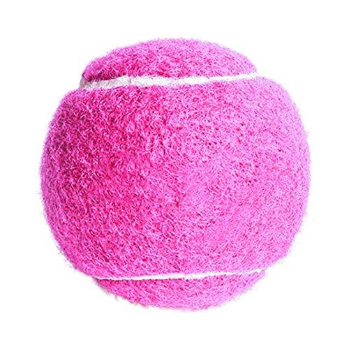 GUODOGUUP Spielzeug Für Haustiere Hund Tennisball Riesen Pet Spielzeug Für Hund Unterschrift Mega Jumbo Kinder Spielzeug Ball Für Hundetraining Liefert 4,5 cm 6,5 cm S Rosa