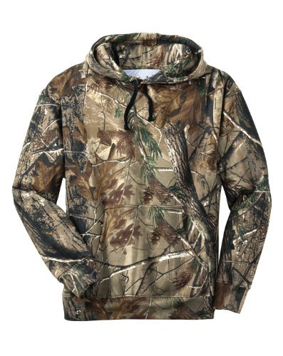 Russell Outdoors Men's Realtree Pullover Hooded Sweatshirt, 2XL, Realtree by Russell Outdoors