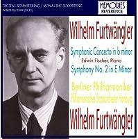 Furtwangler: Symphonic Concerto in B Minor / E. Fischer: Symphony, No. 2 in E Minor