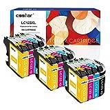 CSSTAR Compatible Cartuchos de Tinta Reemplazo para Brother LC123 XL para DCP-J132W MFC-J4510DW MFC-J6920DW MFC-J6520DW MFC-J6720DW MFC-J4110DW MFC-J552DW MFC-J4610DW Impresora