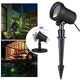 monzana LED Gartenbeleuchtung Lichteffekt für In-/Outdoor Beleuchtung Projektor...