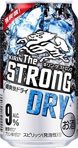 キリンビール キリン ザ ストロング ハードドライ 350ml缶 350ML × 24缶 [3636]