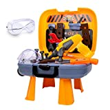 UNIH Toddler Tool Set for Age 2-4 Kids Learning Tools Bench for Toddlers Boys Toys 2 Year Old Gift