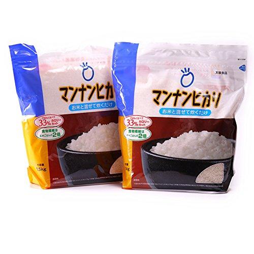 大塚食品 マンナンヒカリ 通販用 1.5kg×(2袋)