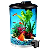 Aquarium Kits 3 Gallon 360 View Aquarium Kit with LED Lighting and Filtration - Skroutz Deals