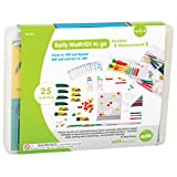 Edx Education Early Math101 to go - Ages 5-6 - Number & Measurement - in Home Learning Kit for Kids - Homeschool Math Resources with 25+ Guided Activities
