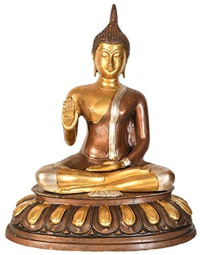 Thai Blessing Buddha - Brass Statue