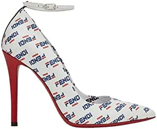 FENDI Luxury Fashion Womens 8I6832A621F150Z White Pumps | Spring Summer 19